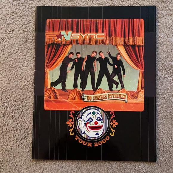 nsync concert tour book 2000